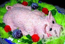 Рецепты простых и красивых салатов на Новогодний стол 2020