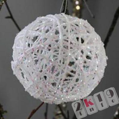 Елочные игрушки, сделанные своими руками на Новый 2019 год