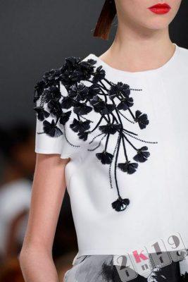 Модная одежда с вышивкой - главный тренд 2018 года