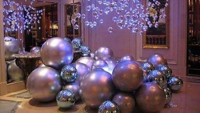 Идеи декора дома елочными шарами на Новый 2019 год