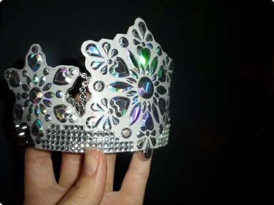 Как сделать корону для маленькой принцессы на Новый 2019 год