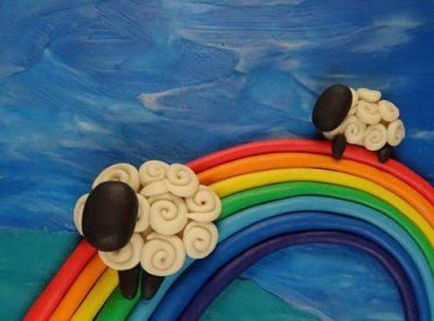 Поделки из пластилина. Поэтапная лепка для детей