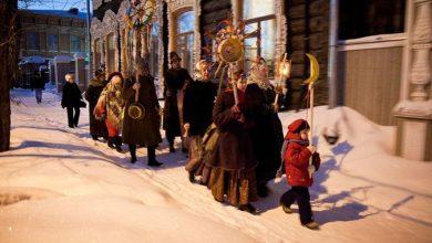 От Рождества до Крещения - святочные колядки для детей и взрослых.