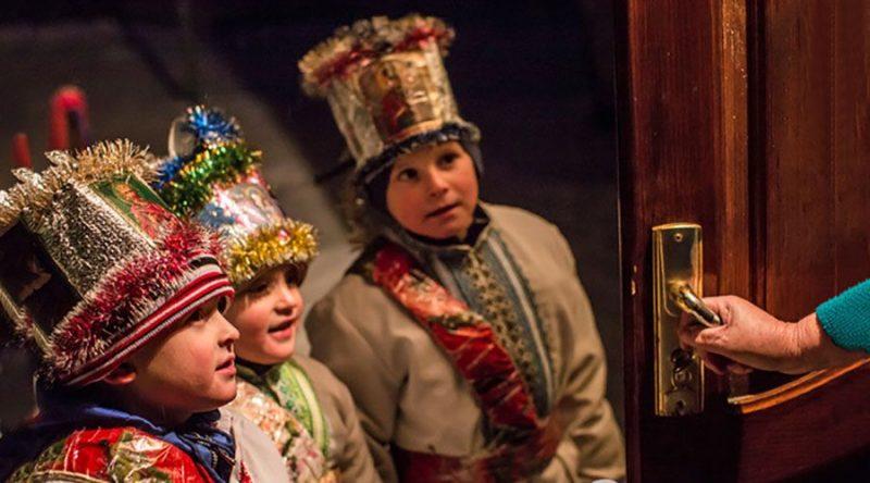 Щедровки и посевалки на Старый Новый год