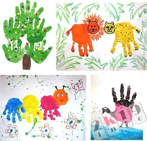 Нетрадиционные техники рисования для детей в садике и школе