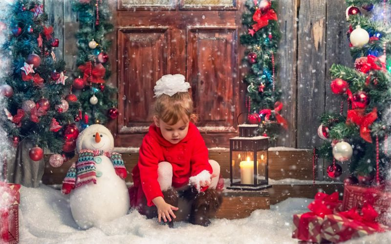 Как создать чудесную атмосферу Нового года для детей.