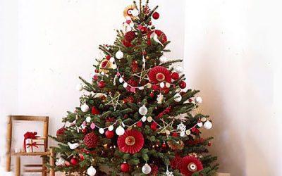 Как интересно украсить елку к Новому 2019 году